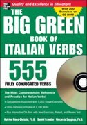 Book The Big Green Book of Italian Verbs (Book w/CD-ROM): 555 Fully Conjugated Verbs by Katrien Maes-Christie