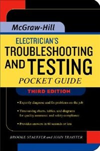 Book Electrician's Troubleshooting and Testing Pocket Guide, Third Edition by Brooke Stauffer