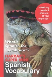 Book Harrap's Super-Mini Spanish Vocabulary by Harrap