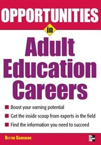 Book Opportunities in Adult Education by Blythe Camenson