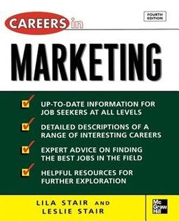 Book Careers in Marketing by Leslie Stair