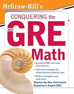 Book McGraw-Hill's Conquering the New GRE Math: McGraw-Hill's Conquering the New GRE Math by Robert E. Moyer