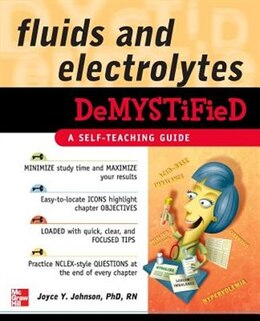 Book Fluids and Electrolytes Demystified by Joyce Johnson