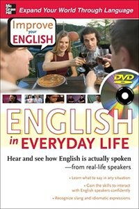 Book Improve Your English: English in Everyday Life (DVD w/ Book): Hear and see how English is actually… by Stephen Brown