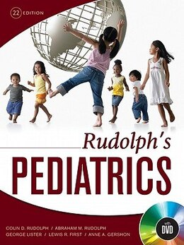 Book Rudolph's Pediatrics, 22nd Edition by Colin Rudolph