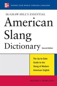 Book McGraw-Hill's Essential American Slang by Richard Spears