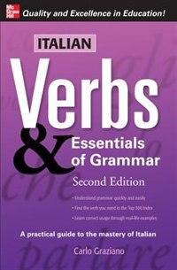 Book Italian Verbs & Essentials of Grammar, 2E. by Carlo Graziano