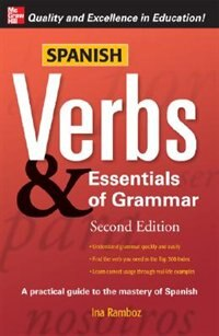 Book Spanish Verbs & Essentials of Grammar, 2E by Ina Ramboz