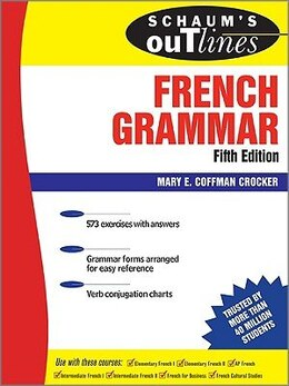 Book Schaum's Outline of French Grammar, 5ed by Mary Crocker