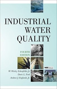 Book Industrial Water Quality by Jr., W. Eckenfelder