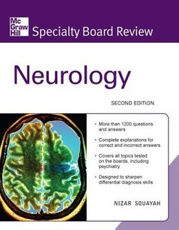 Book McGraw-Hill Specialty Board Review Neurology, Second Edition by Nizar Souayah