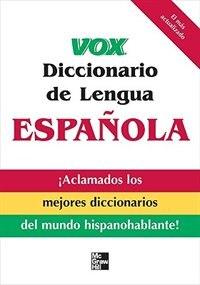 Book Vox Diccionario de Lengua Española by Vox