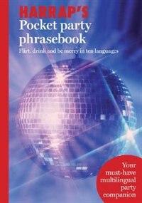 Book Harrap's Pocket Party Phrasebook by Harrap