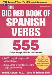 Book The Big Red Book of Spanish Verbs, Second Edition by Ronni Gordon