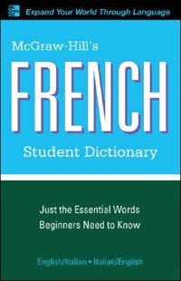Book McGraw-Hill's French Student Dictionary by Jacqueline Winders