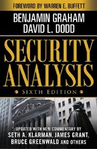 Book Security Analysis: Sixth Edition, Foreword by Warren Buffett: Sixth Edition, Foreword by Warren… by Benjamin Graham