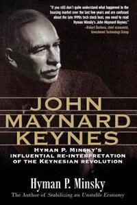Book John Maynard Keynes by Hyman Minsky