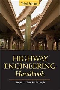 Book Highway Engineering Handbook by Roger Brockenbrough