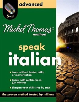 Book Michel Thomas Method Italian Advanced, 5-cd Program by Michel Thomas