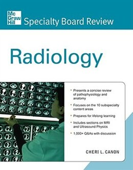 Book Mcgraw-hill Specialty Board Review Radiology by Cheri Canon