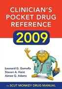 Book Clinician's Pocket Drug Reference 2009 by Leonard Gomella