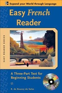 Book Easy French Reader w/CD-ROM: A Three-Part Text for Beginning Students by R. de Roussy de Sales