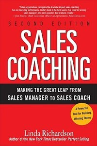 Book Sales Coaching: Making the Great Leap from Sales Manager to Sales Coach: Making the Great Leap from… by Linda Richardson