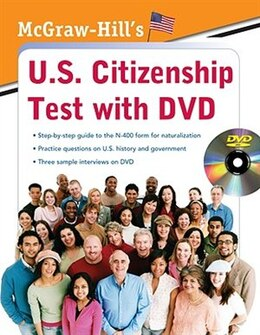Book McGraw-Hill's U.S. Citizenship Test with DVD by Karen Hilgeman