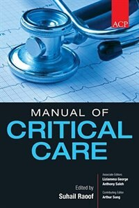 Book ACP Manual of Critical Care by Suhail Raoof