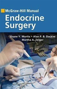 Book McGraw-Hill Manual Endocrine Surgery by Shane Morita