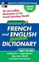 HARRAP'S FRENCH AND ENGLISH POCKET DICTIONARY CANADIAN ECO