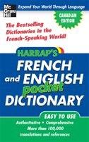 HARRAP'S FRENCH AND ENGLISH POCKET DICTIONARY CANADIAN ECO