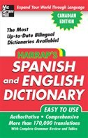 Book HARRAP'S SPANISH AND ENGLISH DICTIONARY CANADIAN ECO by Mcgraw-hill Ryerson