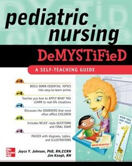 Book Pediatric Nursing Demystified by Joyce Johnson