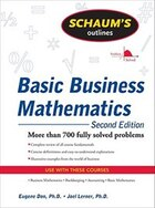 Schaum's Outline of Basic Business Mathematics, 2ed