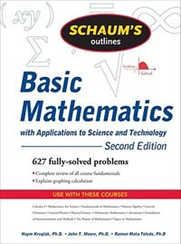 Book Schaum's Outline of Basic Mathematics with Applications to Science and Technology, 2ed by Haym Kruglak