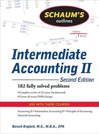 Book Schaum's Outline of Intermediate Accounting II, 2ed by Baruch Englard