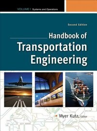 Book Handbook of Transportation Engineering Volume I, 2e by Myer Kutz