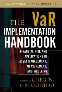 Book The VAR Implementation Handbook by Greg N. Gregoriou