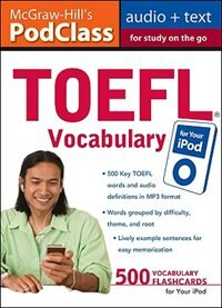 Book Mcgraw-hill's Podclass Toefl Vocabulary (mp3 Disk) by Lawrence Zwier