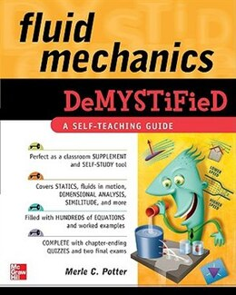Book Fluid Mechanics DeMYSTiFied by Merle Potter