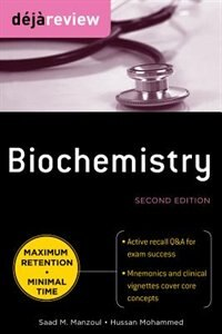Book Deja Review Biochemistry, Second Edition by Saad Manzoul