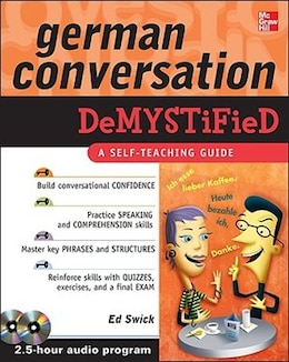 Book German Conversation Demystified with Two Audio CDs by Ed Swick