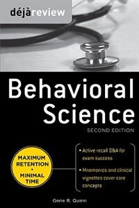 Book Deja Review Behavioral Science, Second Edition by Gene Quinn