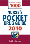 Book Nurse's Pocket Drug Guide 2010 by Judith Barberio