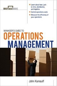 Book Manager's Guide to Operations Management by John Kamauff