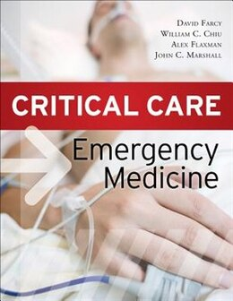 Book Critical Care Emergency Medicine by David A. Farcy