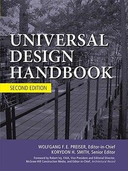 Book Universal Design Handbook, 2E by Wolfgang Preiser