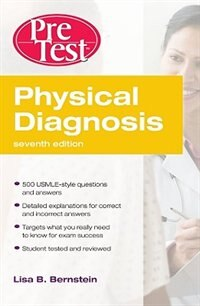Book Physical Diagnosis PreTest Self Assessment and Review, Seventh Edition by Lisa Bernstein