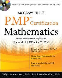 Book McGraw-Hill's PMP Certification Mathematics with CD-ROM by Vidya Subramanian